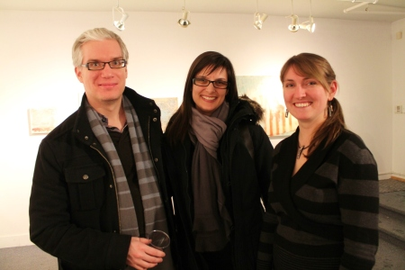 Ian Foster, Nancy Hynes, and Sharon King-Campbell