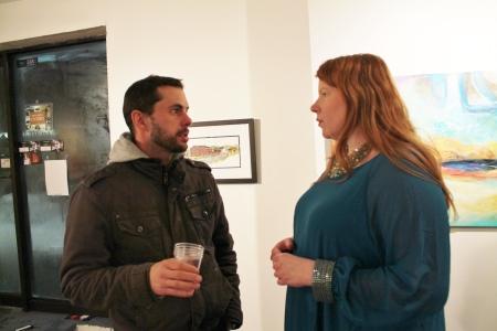 James Langer and Tamara Reynish