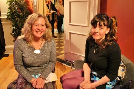 Lisa Moore and Eva Crocker